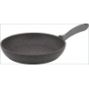 Hascevher Germanitium 24 cm Granit Tava Kapaksız Gri