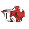 Hascevher Galaxy 5 lt Kırmızı Matik Düdüklü Tencere