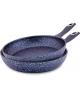Hascevher Stoneco 2 Parça 24-28 cm Granit Tava Seti - Mavi