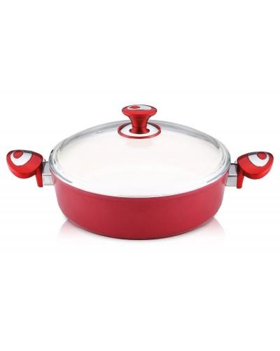 Hascevher 26x07 cm Kırmızı Seramik Karnıyarık