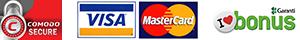 Comodo - Visa, Mastercard - Garanti Bonus